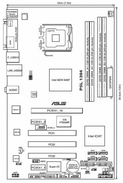 ASUS P5L 1394 CHIPSET DRIVER